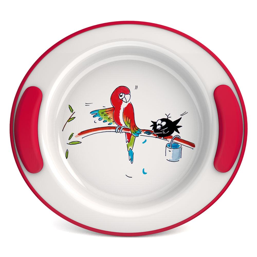 "Keep Warm Plate for Children Ø 25.5 cm, Decor ""Balloons"""