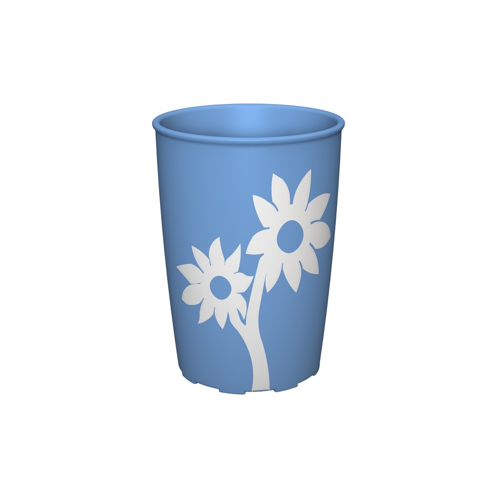 Cup with Non-Slip Flower with Lid