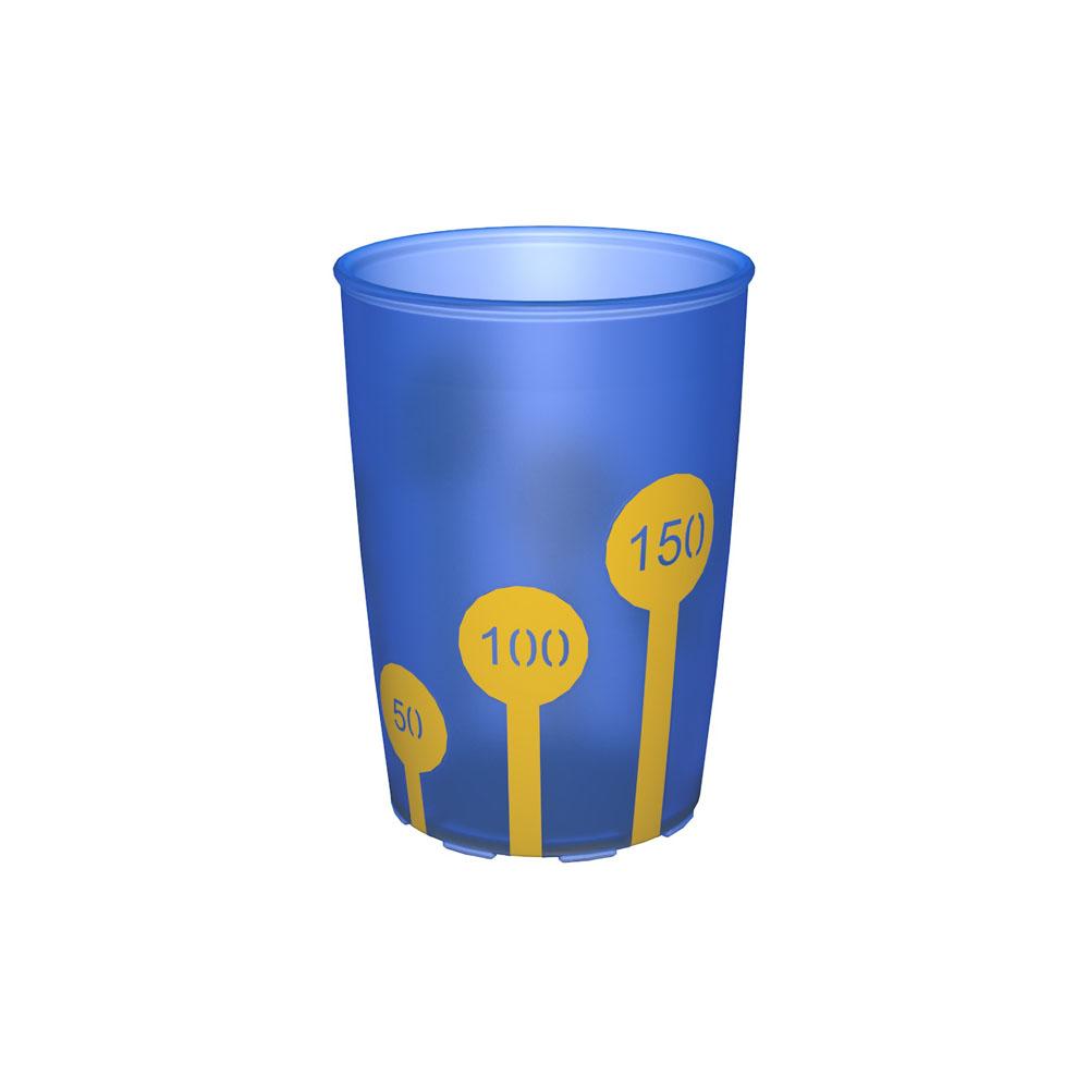 Non-Slip Cup with Scale 220 ml/7.7 oz