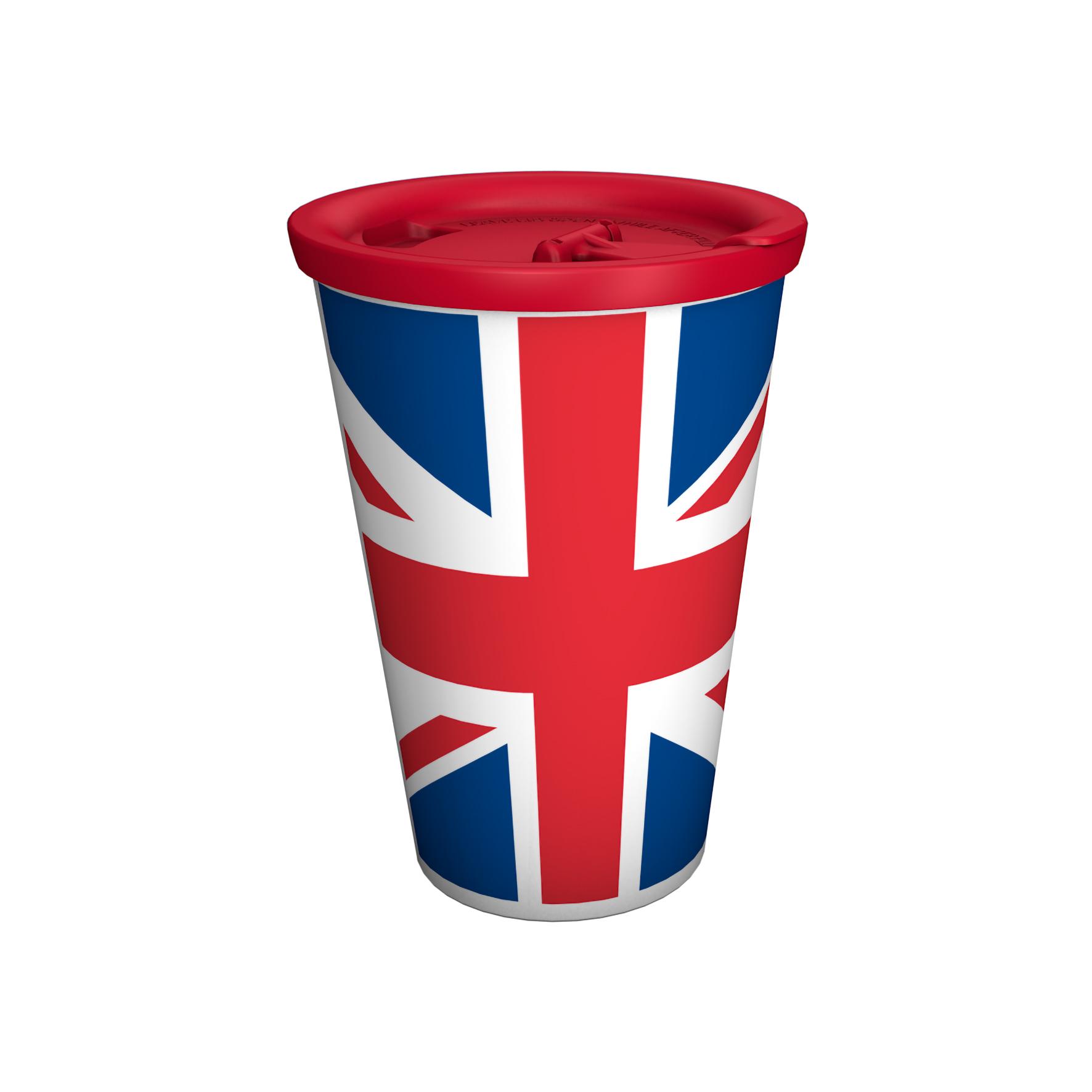 Coffee to go-Mug Country-Edition with lid