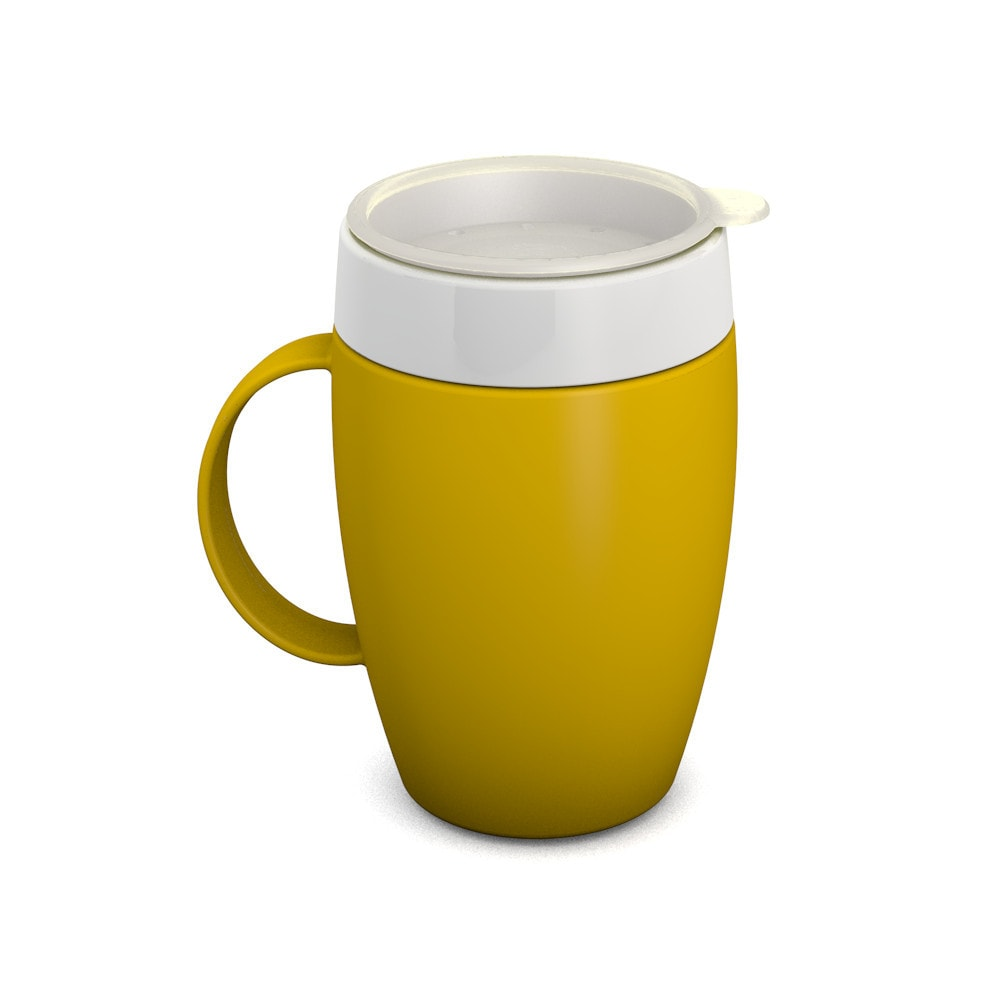 Mug with Internal Cone with Drinking Lid