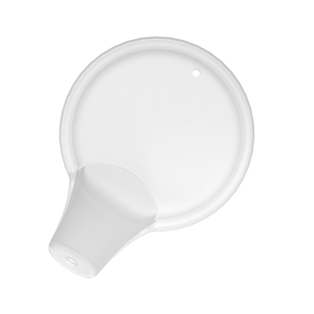 Spouted Lid with small opening (ø 5 mm)