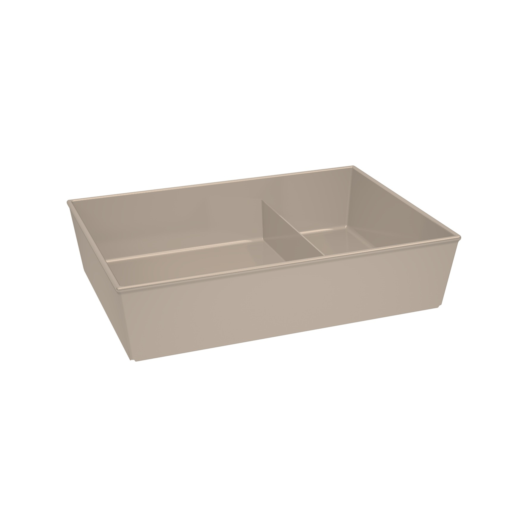 Food to go Container Edgy Egon with Devider, without lid