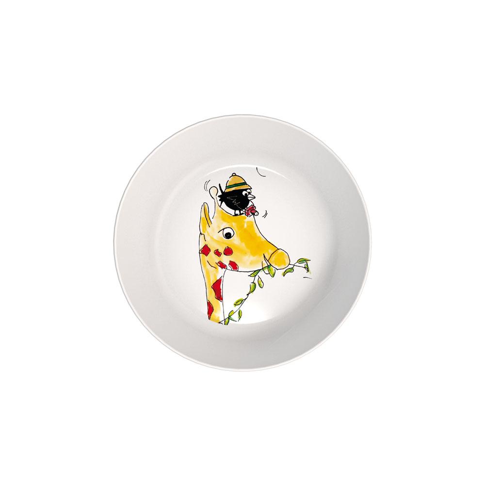Plate deep with a children's design Ø 15 cm