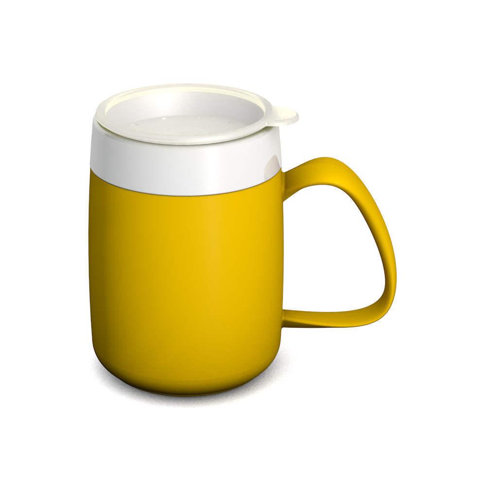 Mug with Internal Cone 140 ml/4.9 oz and discreet Drinking Lid