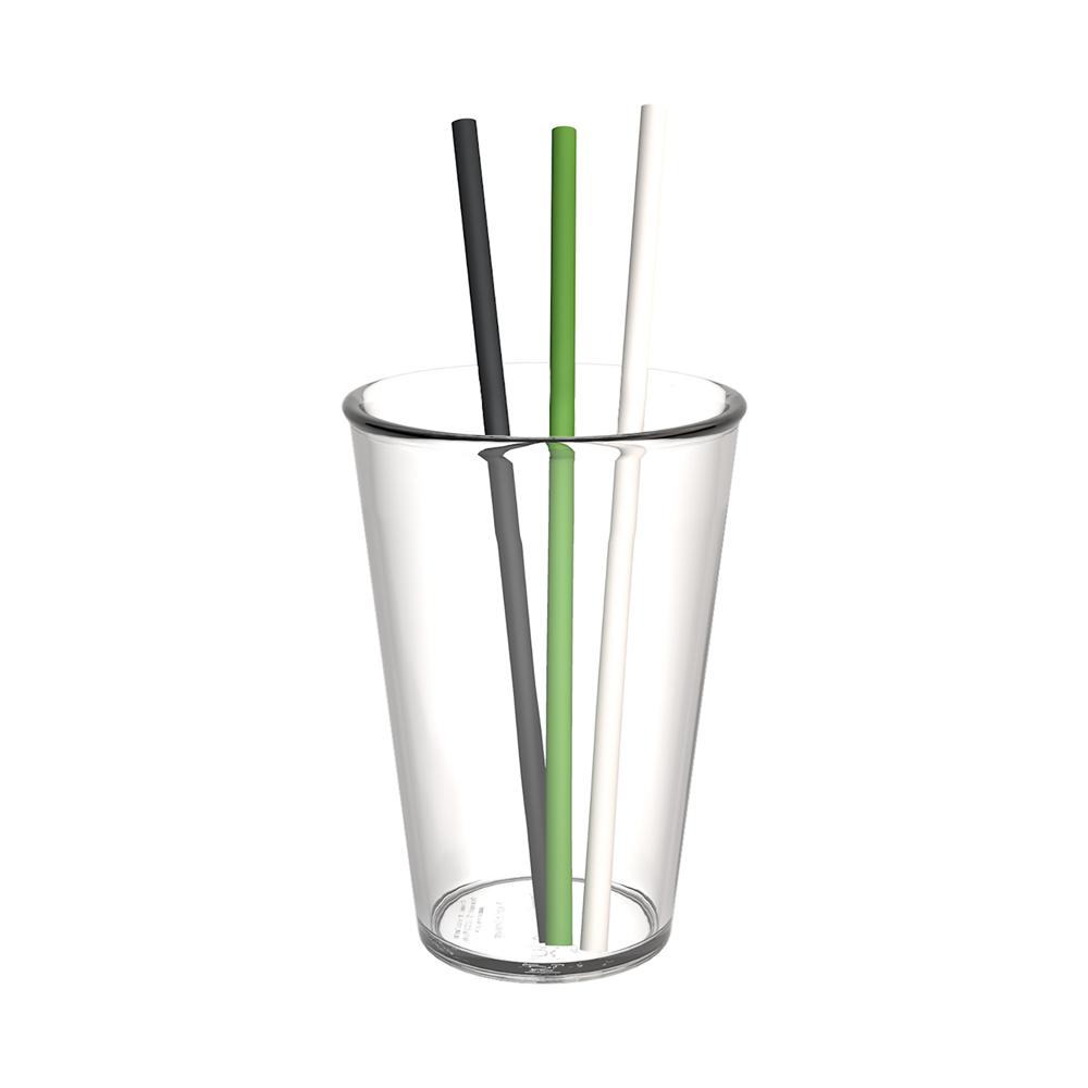 Organic Straw, set of 20