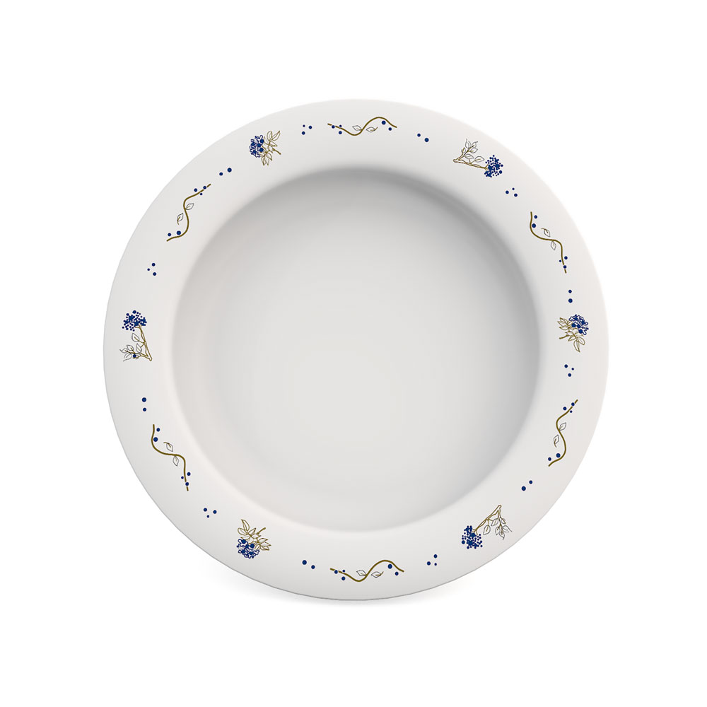 Small Plate with Sloped Base