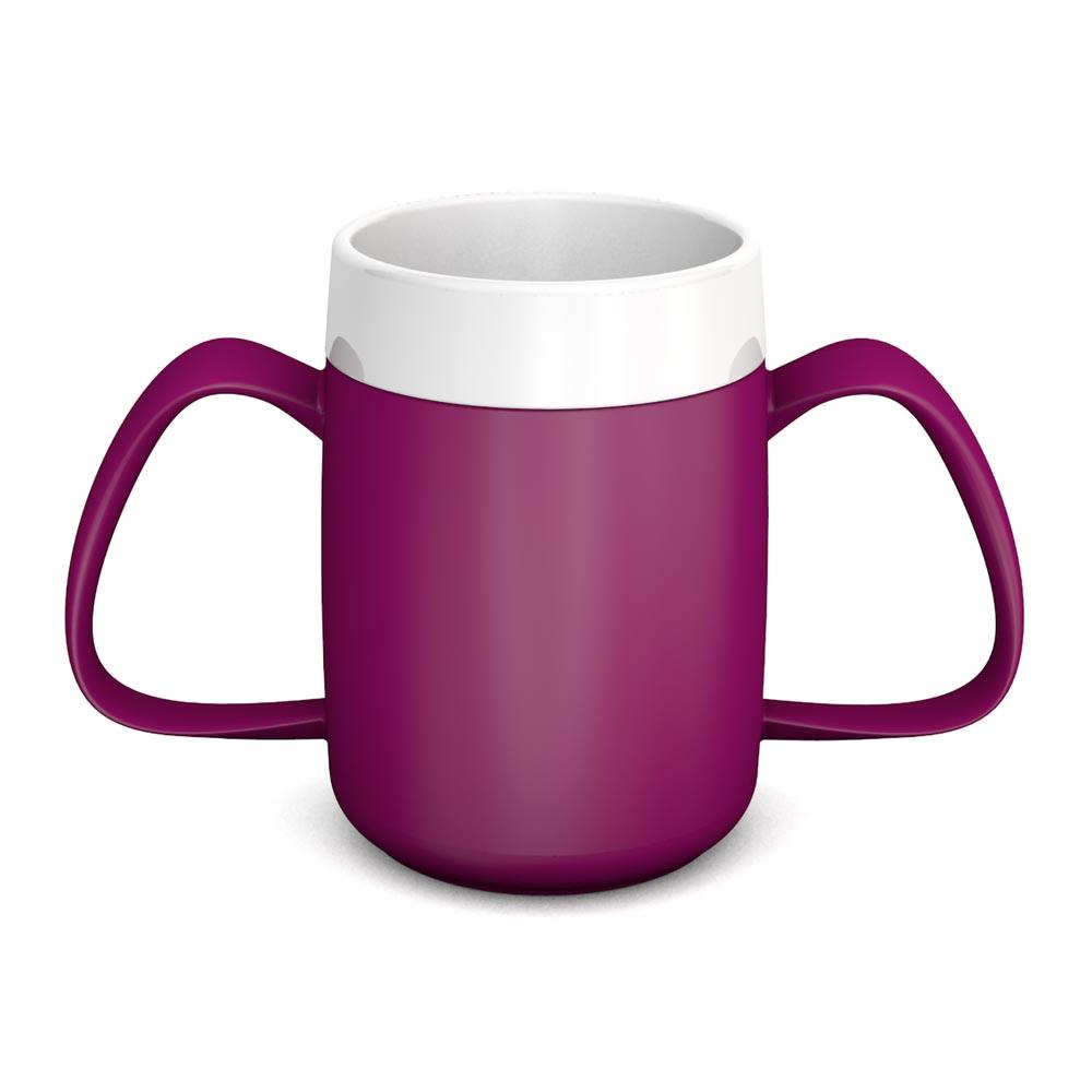Two Handled Mug with Internal Cone 140 ml/4.9 oz