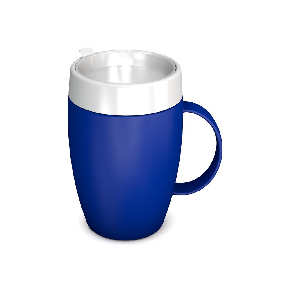 Mug with Internal Cone 140 ml/4.9 oz with Discreet Drinking Lid