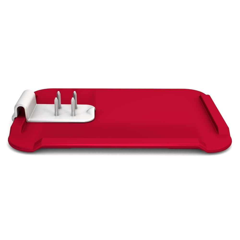 Non-Slip Chopping Board 28 x 21 cm with Food Preparation Help