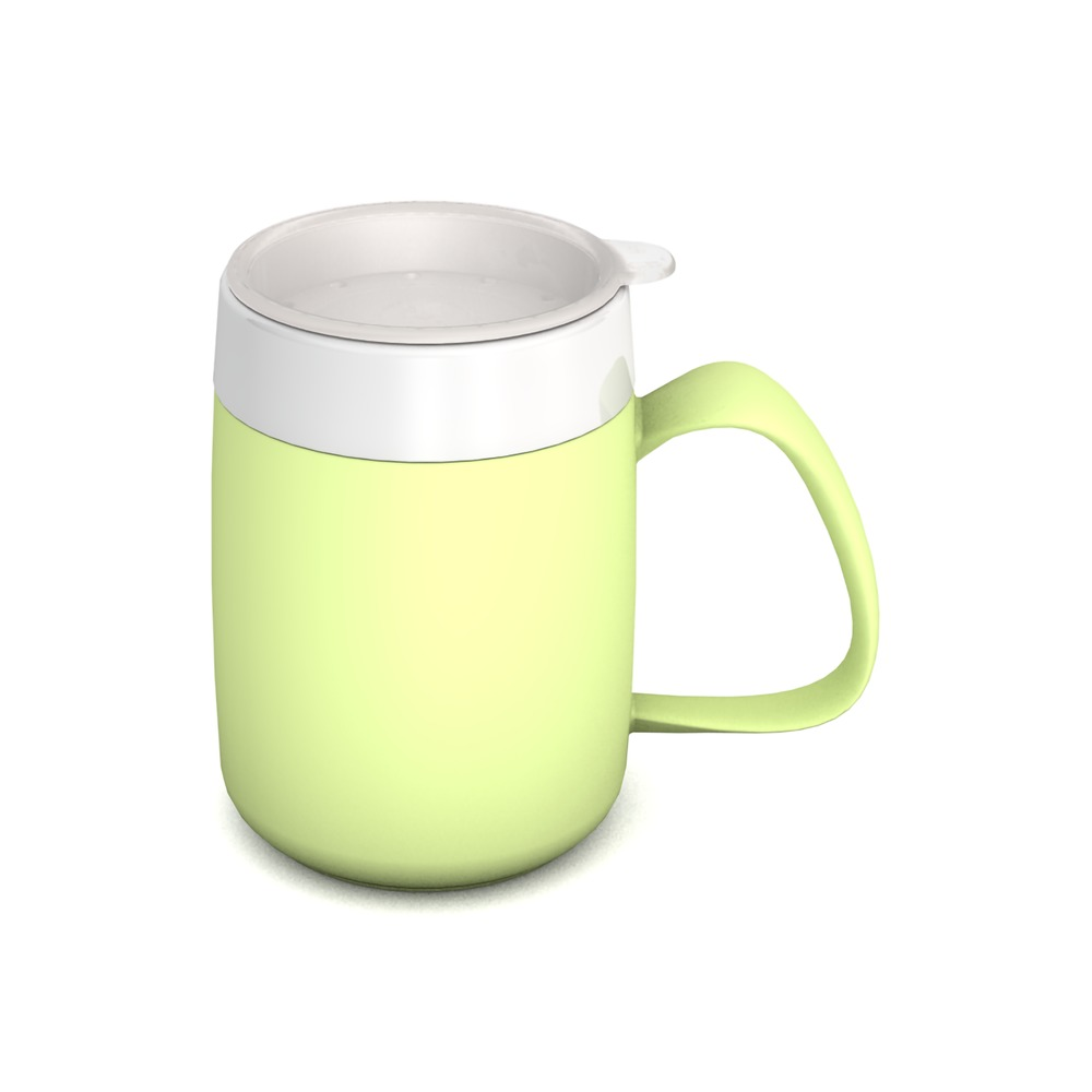Mug with Internal Cone Firefly and Drinking Lid, all-round openings