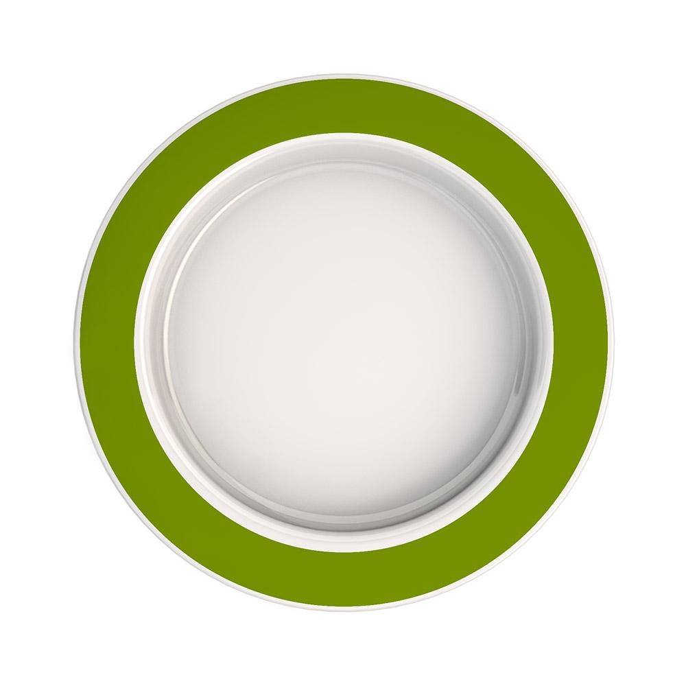 Large Plate with Sloped Base
