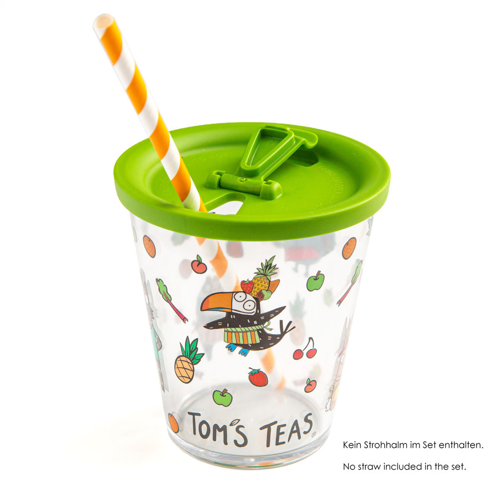 Tom's Teas-Cup Coffee to go 300 ml, with lid