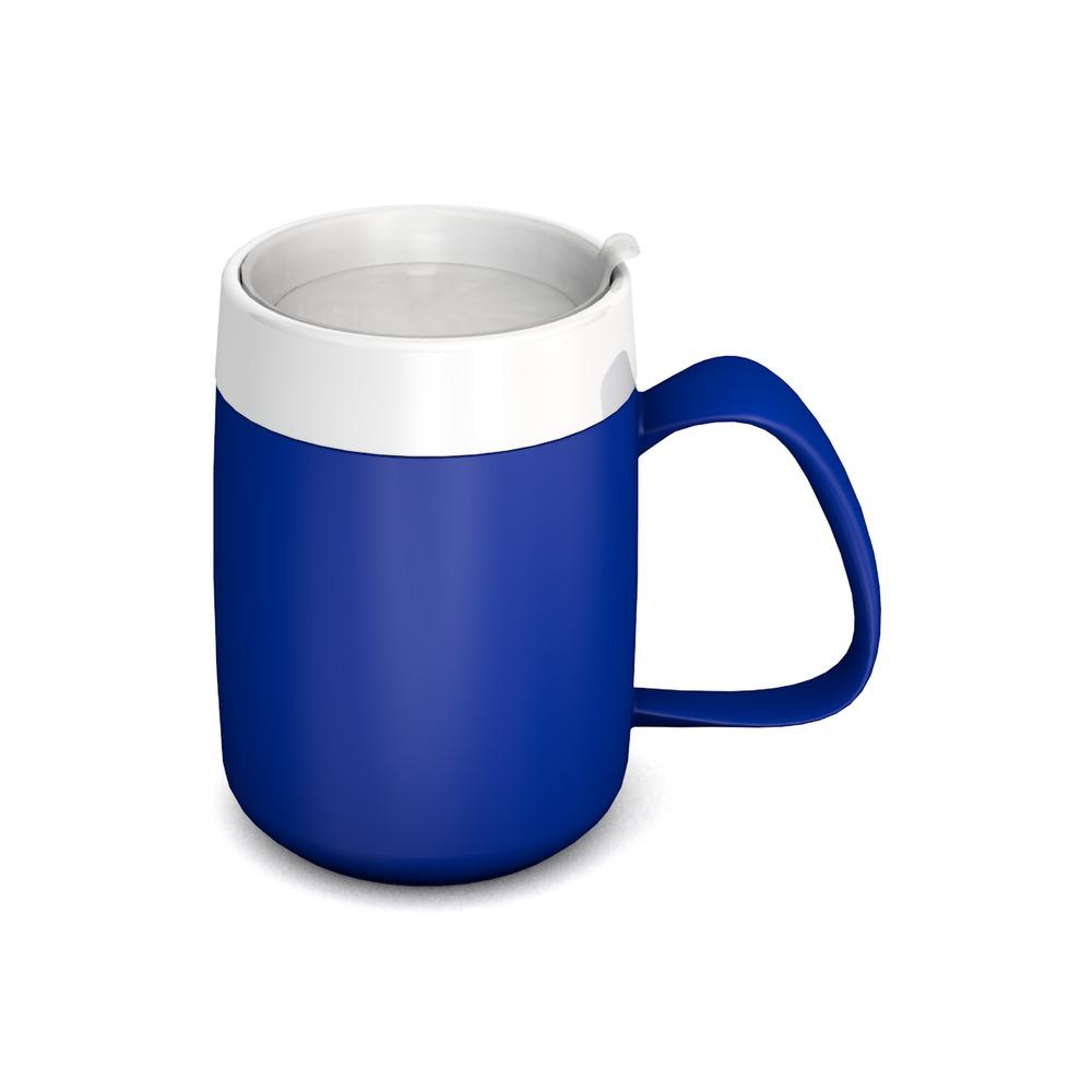 Thermo Mug with discreet Drinking Lid